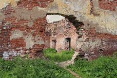 Fördärvar av den gamla domkyrkakyrkan i Vyborg Royaltyfria Bilder