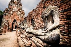 Fördärvar av den gamla templet Royaltyfri Fotografi