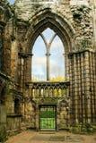 Fördärvar av den Holyrood abbotskloster Royaltyfria Bilder