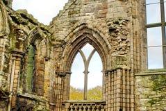 Fördärvar av den Holyrood abbotskloster Royaltyfri Bild