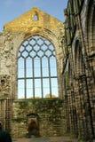 Fördärvar av den Holyrood abbotskloster Arkivbilder