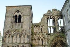 Fördärvar av den Holyrood abbotskloster Arkivbild