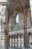 Fördärvar av den Holyrood abbotskloster Fotografering för Bildbyråer