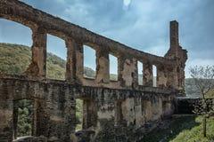 Fördärvar av den imperialistiska fästningen ointagliga Beilstein, tysk Royaltyfria Foton