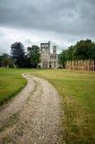 Fördärvar av den Jumieges abbotskloster, Frankrike Royaltyfria Bilder
