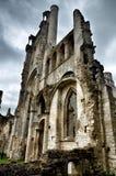 Fördärvar av den Jumieges abbotskloster, Frankrike Arkivbild