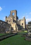 Fördärvar av den Kirkstall abbotskloster Arkivfoto