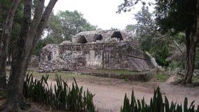 Fördärvar av den Mayan kulturen i Chichen Itza, den Yucatan halvön royaltyfri bild