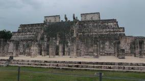 Fördärvar av den Mayan kulturen i Chichen Itza royaltyfri fotografi