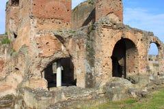 Fördärvar av den Quintili villan arkivbild