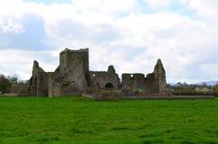 Fördärvar av den stenHore abbotskloster Royaltyfri Fotografi