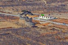 Fördärvar av den stora Kina väggen Royaltyfri Fotografi