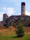 Fördärvar av det gammala slottet Royaltyfria Foton