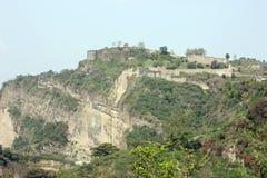 Fördärvar av det Kangra fortet, Kangra, Himachal Pradesh, Indien fotografering för bildbyråer