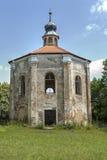 Fördärvar av det Loretto kapellet i parkera Arkivfoton