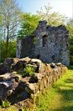 Fördärvar av det Pitcairn huset - gamla Glenrothes gränsmärken Royaltyfria Bilder