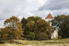 Fördärvar av en gammal fästning Royaltyfri Bild