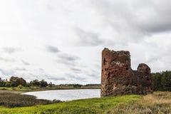 Fördärvar av en gammal fästning Royaltyfria Bilder