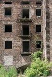 Fördärvar av ett övergett hus Royaltyfri Fotografi