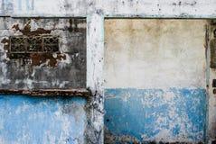 Fördärvar av ett övergett hus Royaltyfri Bild