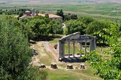 Fördärvar av forntida Apollonia, Albanien Royaltyfri Fotografi