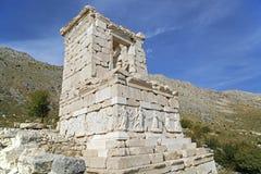 Fördärvar av forntida stad Royaltyfri Fotografi
