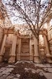 Fördärvar av forntida stad av palmyraen - Syrien Arkivbild