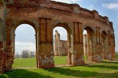 Fördärvar av gammal slott Arkivfoton