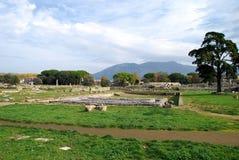 Fördärvar av grekiska tempel Royaltyfri Foto
