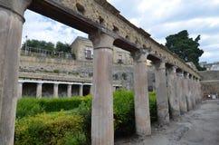 Fördärvar av Herculaneum Fotografering för Bildbyråer