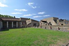 Fördärvar av Herculaneum Arkivfoto