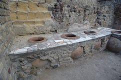 Fördärvar av Herculaneum Royaltyfri Fotografi