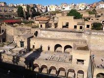 Fördärvar av Herculaneum Royaltyfri Foto