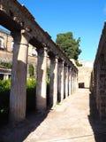 Fördärvar av Herculaneum Royaltyfri Bild