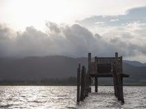 Fördärvar av husmitt sjön Royaltyfri Bild
