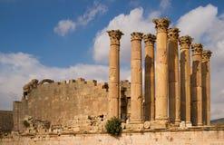 Fördärvar av Jerash Fotografering för Bildbyråer
