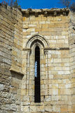 Fördärvar av kloster av Bonaval Royaltyfri Foto