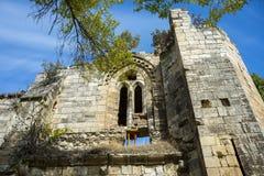Fördärvar av kloster av Bonaval Royaltyfri Fotografi