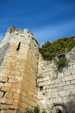 Fördärvar av kloster av Bonaval Arkivfoto