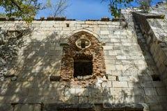 Fördärvar av kloster av Bonaval Arkivbilder