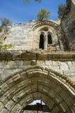 Fördärvar av kloster av Bonaval Arkivbild