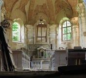 Fördärvar av kyrkan av den heliga Treenighet Royaltyfri Foto