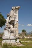 Fördärvar av magnesiaannonsen Maeandrum (den Hellenistic perioden) för den forntida staden, Royaltyfria Foton