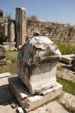 Fördärvar av magnesiaannonsen Maeandrum, det Aydin landskapet, Turke för den forntida staden Royaltyfria Bilder