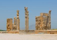 Fördärvar av Persepolis arkivbild