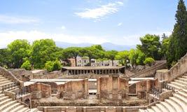 Fördärvar av Pompeii Royaltyfri Fotografi