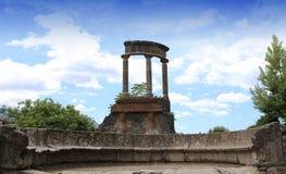 Fördärvar av Pompeii, nära Naples, Italien Arkivfoton