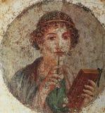 Fördärvar av Pompeii, nära Naples, Italien Royaltyfria Bilder