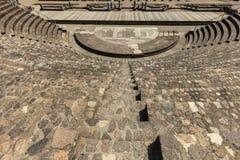 Fördärvar av Roman Theatre i Lyon Royaltyfria Bilder