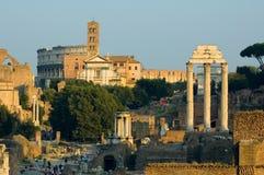 Fördärvar av Rome Arkivbilder